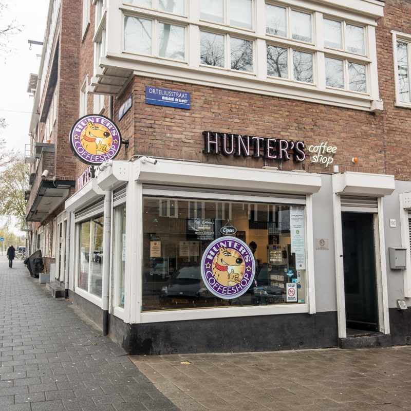Hunter's Coffeeshop Amsterdam West