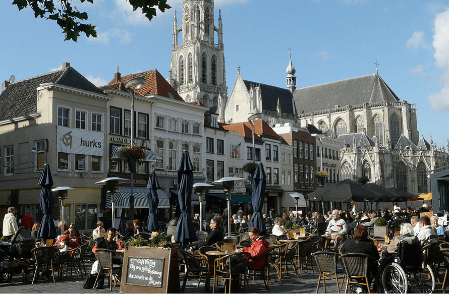 Coffeeshops in the Nederlands Breda