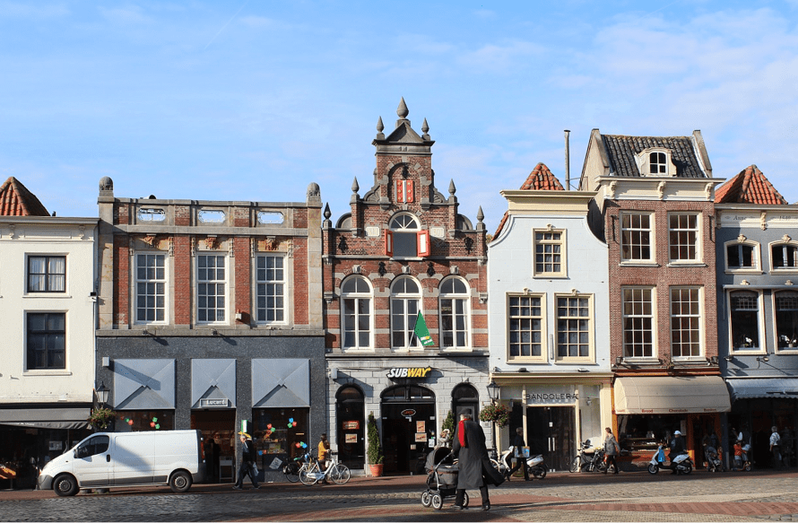 Coffeeshops in the Nederlands Gouda